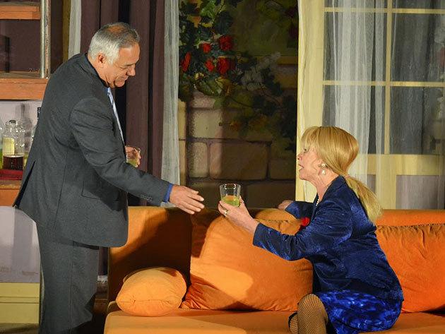 Szerelmes nagykövet - január 17., 19:00 - Vidám Színpad (11-14. sor)