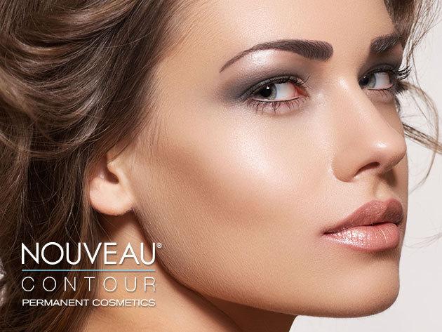 Professzionális Nouveau Contour kozmetikai mikropigmentációs sminktetoválás