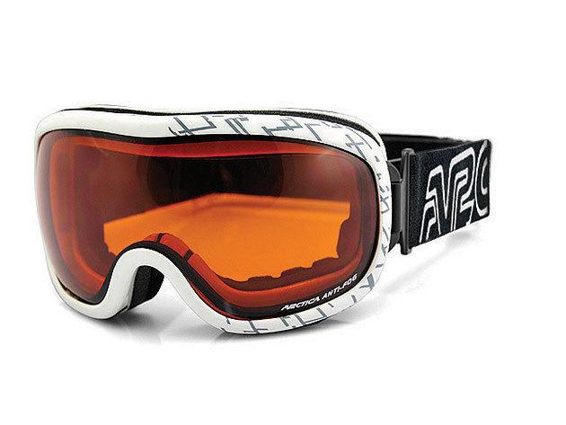 Arctica síszemüveg - fehér szegély (FG-78B)