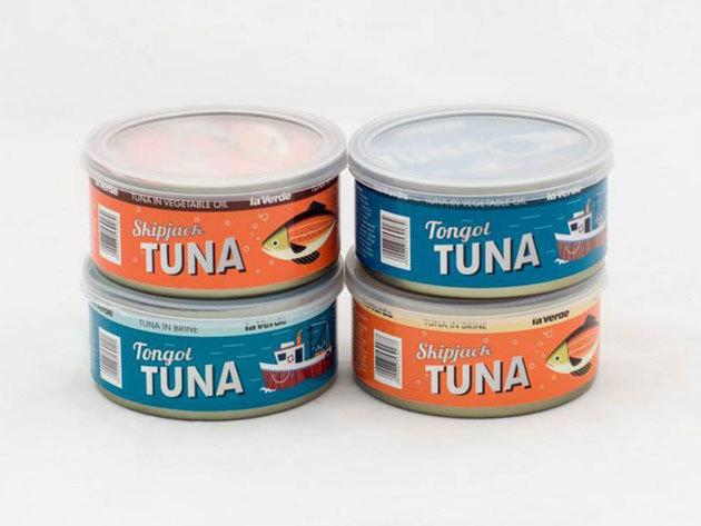 4 darabos la Verde válogatás - tonhal törzs konzerv csomag