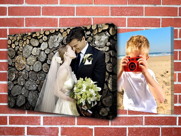 Vászonkép a kedvenc fotóidból - 50x70 vagy 70x100 cm-es méretben / Ideális ajándék minden alkalomra!