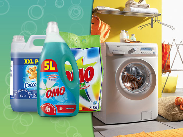 Coccolino, Domestos és OMO termékek óriás kiszerelésben!