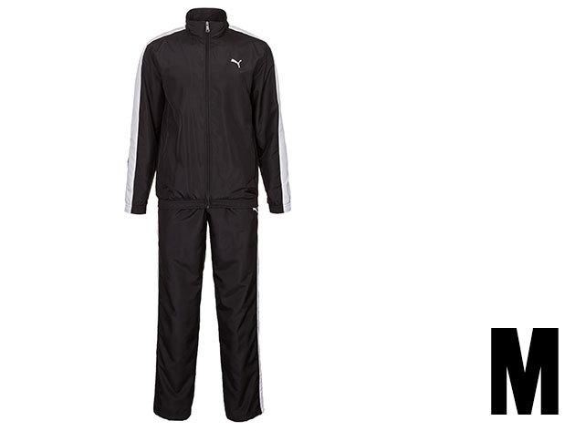 Puma Panelled woven férfi fekete melegítő (M)