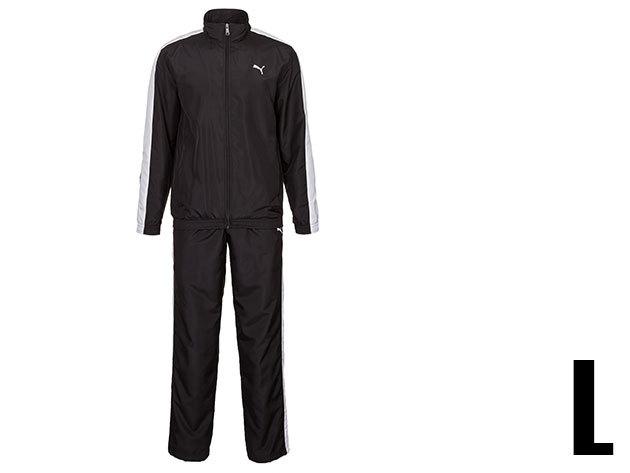 Puma Panelled woven férfi fekete melegítő (L)