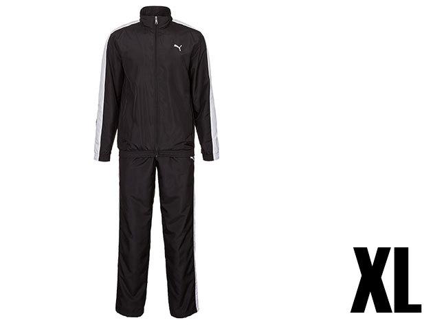Puma Panelled woven férfi fekete melegítő (XL)