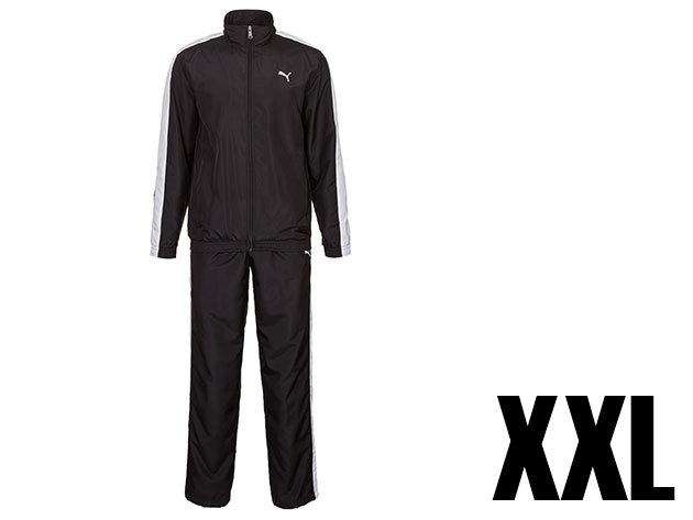 Puma Panelled woven férfi fekete melegítő (XXL)