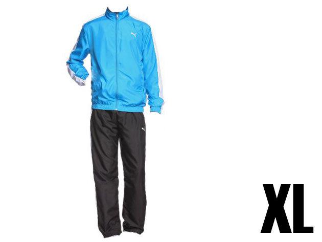 Puma Panelled woven férfi kék melegítő (XL)