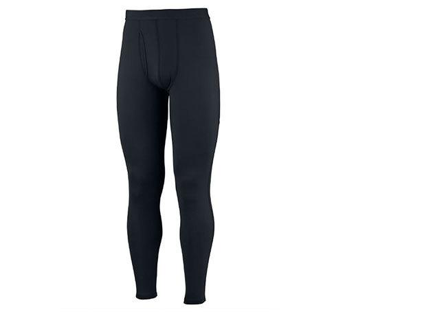 Közepes férfi aláöltöző alsó Omni-Heat hőtartó technológiával 85% poliészter/15% elasztán (AM8111j_010 Midweight Tight w Fly) - XL