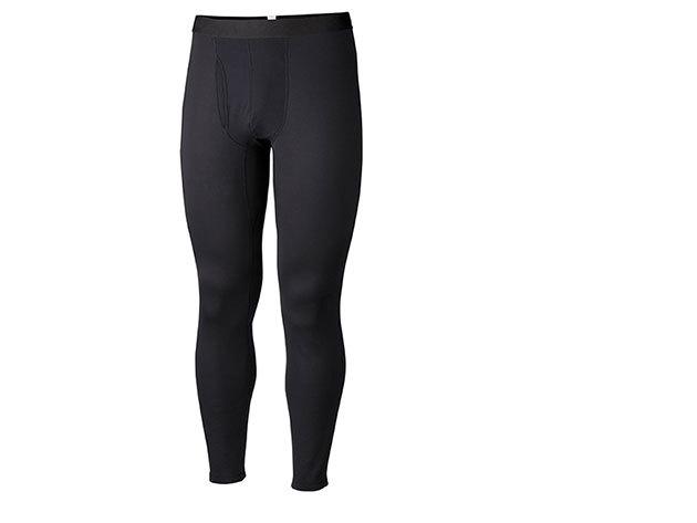 Vastagabb férfi aláöltöző alsó Omni-Heat hőtartó technológiával 85% poliészter/15% elasztán (AM8017l_010 Men's Heavyweight Tight) - L