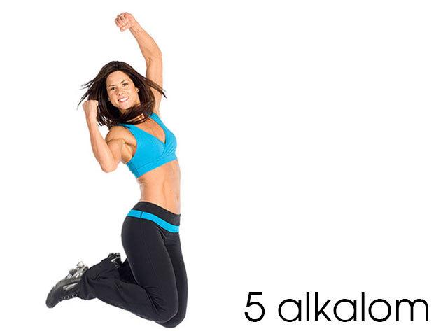 5 alkalmas FLEURENT bérlet napi 2x10 perc edzésre