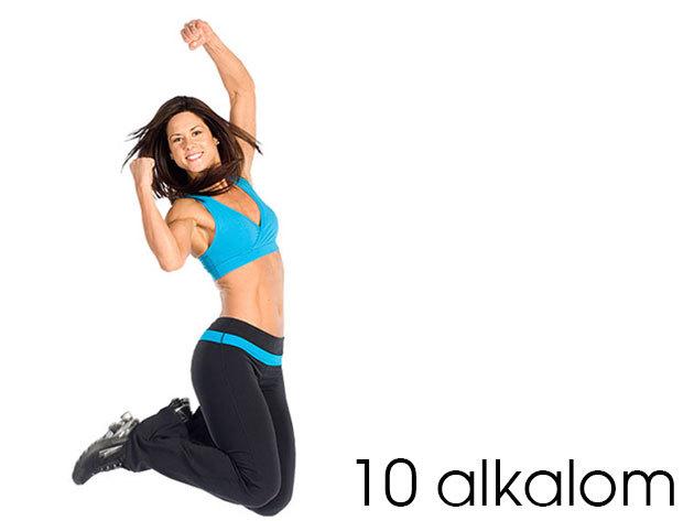 10 alkalmas FLEURENT bérlet napi 2x10 perc edzésre