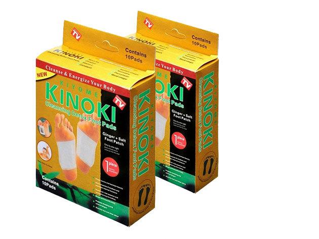 Kinoki GOLD méregtelenítő tapasz DUO (20 db / 10 pár)
