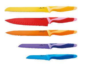 Késkészlet RM, 5 részes, színes - BL-1248