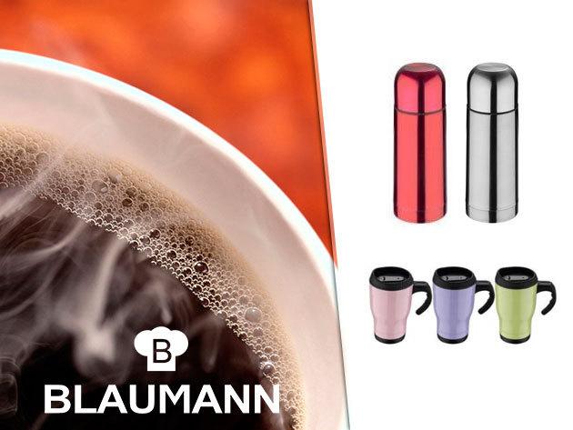 Rozsdamentes acél BLAUMANN termoszok több méretben és színben!