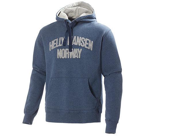 Helly Hansen GRAPHIC HOODIE DEEP STEEL MELANGE S (51711_577-S)