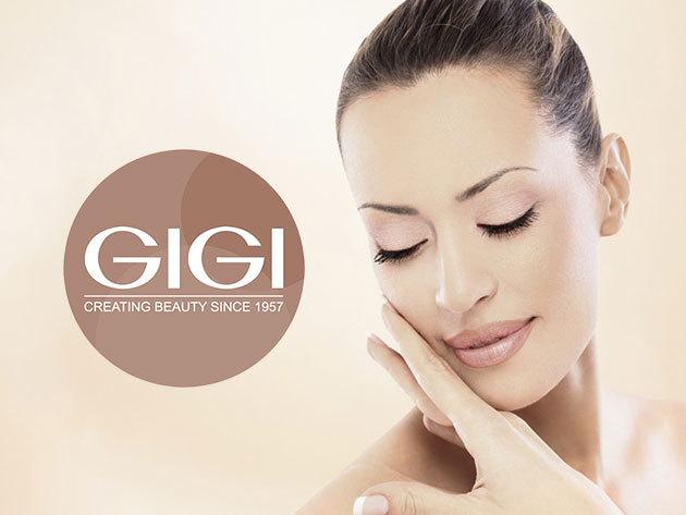 Relaxáló, fiatalító arc- és dekoltázs masszázs GIGI termékekkel és feltöltő gumimaszkkal (III. ker.)
