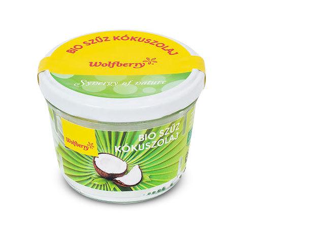 Wolfberry BIO szűz kókuszolaj 200 ml
