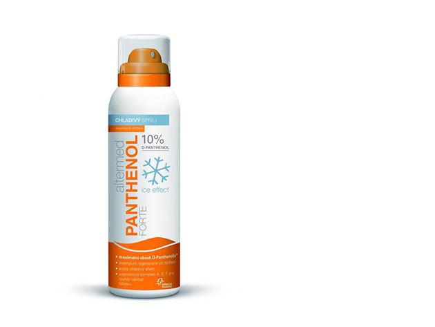 Panthenol Forte Ice Effect 10% spray 150 ml - Igazi enyhülés