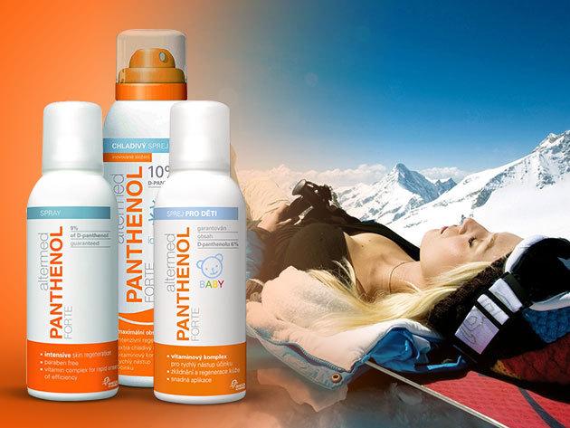 Bőrnyugtató, regeneráló Panthenol Forte termékek, a legkisebbeknek is!