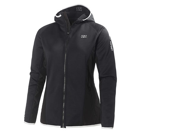 Helly Hansen W DIAMOND FLEECE JACKET BLACK L (51696_990-L)