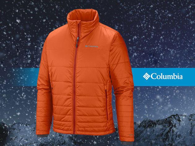 COLUMBIA Go To Jacket - átmeneti kabát férfiaknak hőtartó és hőtükrös béléssel
