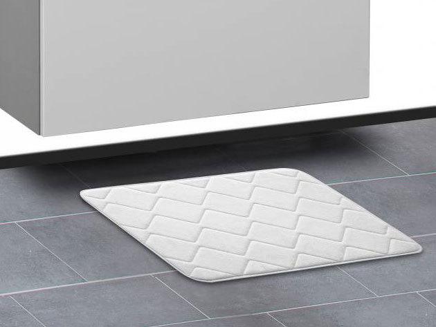 Memóriahabos fürdőszoba szőnyeg - FEHÉR - AZONNAL ÁTVEHETŐ