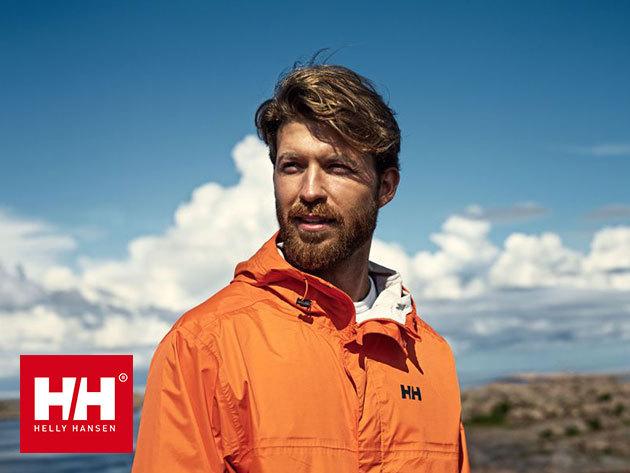 Helly Hansen LOKE JACKET víz- és szélálló, lélegző kabát, mely praktikusan visszacsomagolható a saját zsebébe