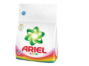 ARIEL 1,4 Kg mosópor színes vagy fehér ruhákhoz